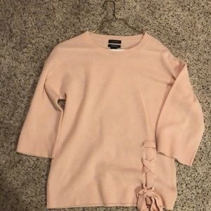 Halogen XS petite cashmere blend sweater
